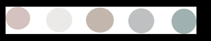 Meditatiekussen kleur roze, turquoise, grijs, bruin en wit